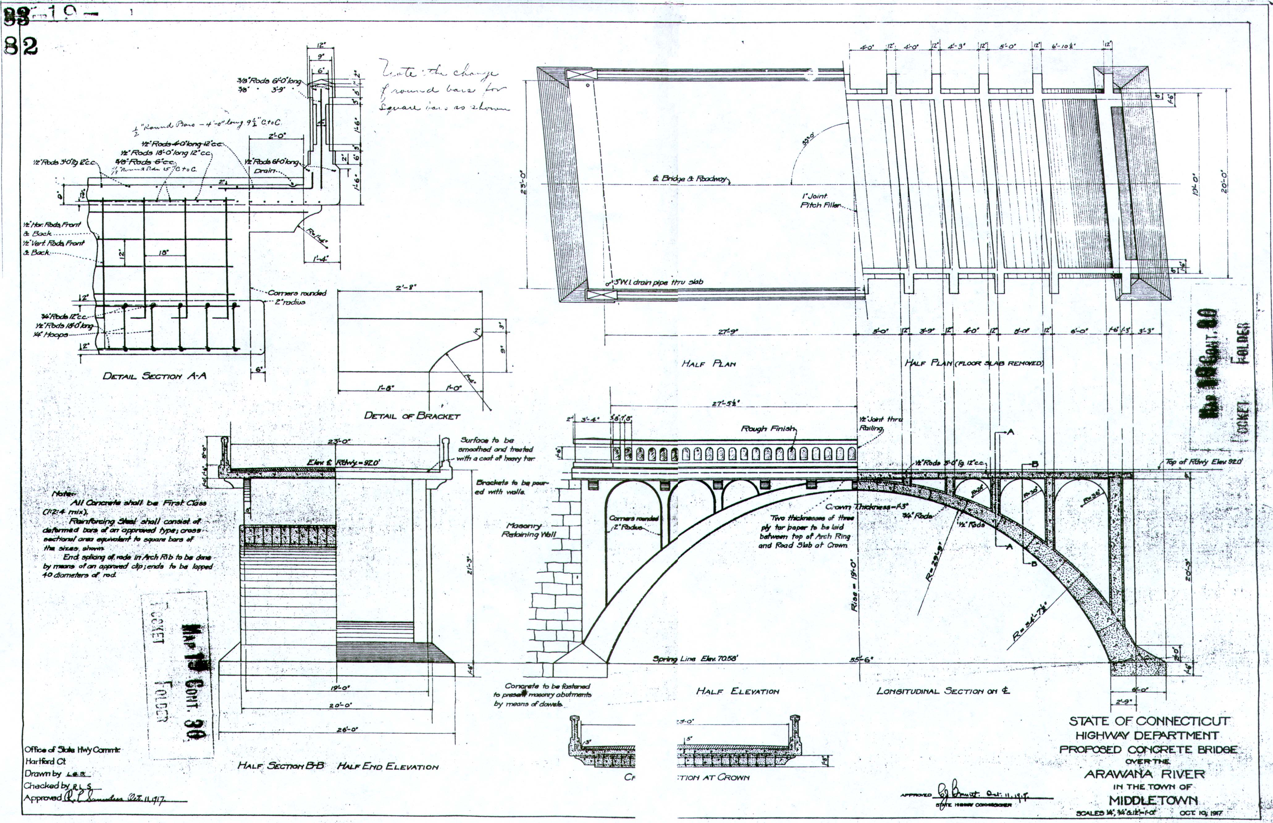 Bridge 560 drawing for How to make a blueprint